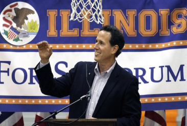 Santorum nails it about Illinois GOP